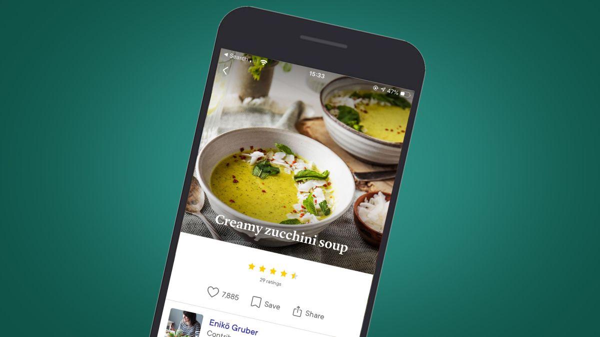 Aplicaciones para buscar recetas de cocina